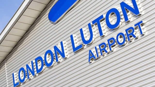 Luton Airport London UK