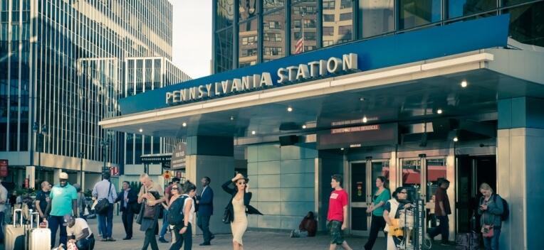 Consignes à bagages Penn Station