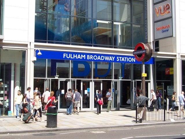 Fulham broadway station Luggage stoarge