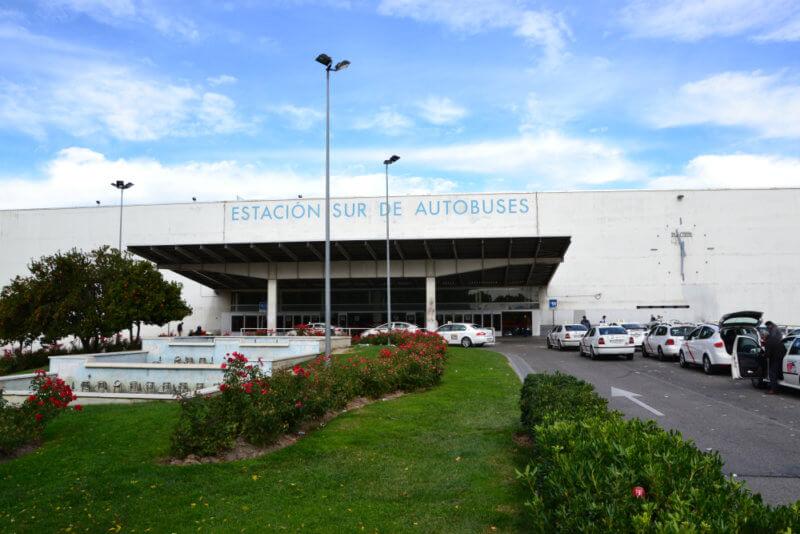 Luggage storage Alvaro Mendez Station