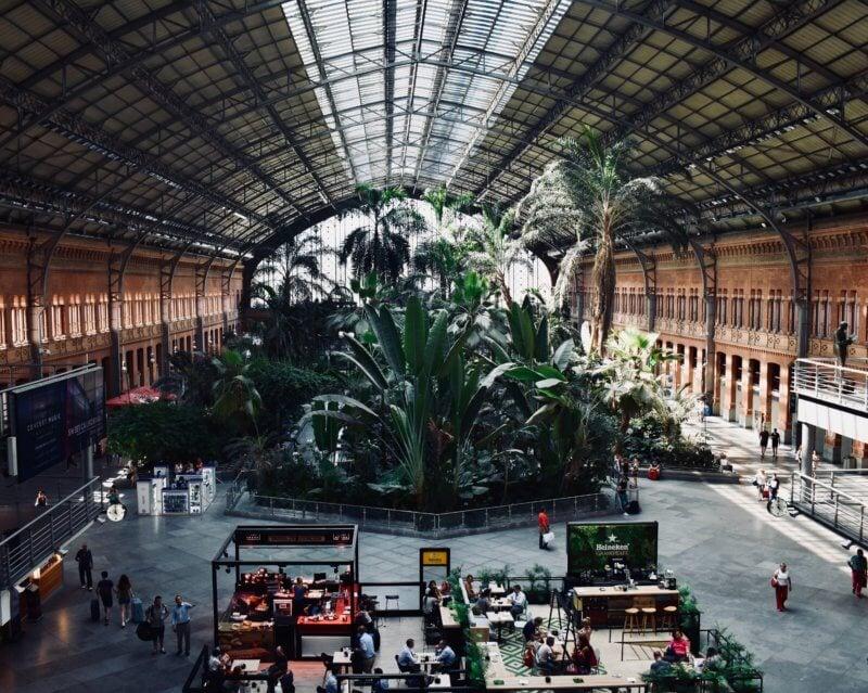 Luggage storage Madrid Atocha train station