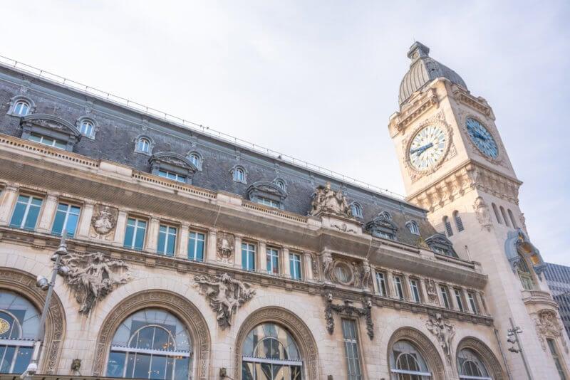 Deja el equipaje cerca de la Gare de Lyon