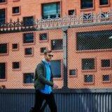 Jannik walking with suitcase