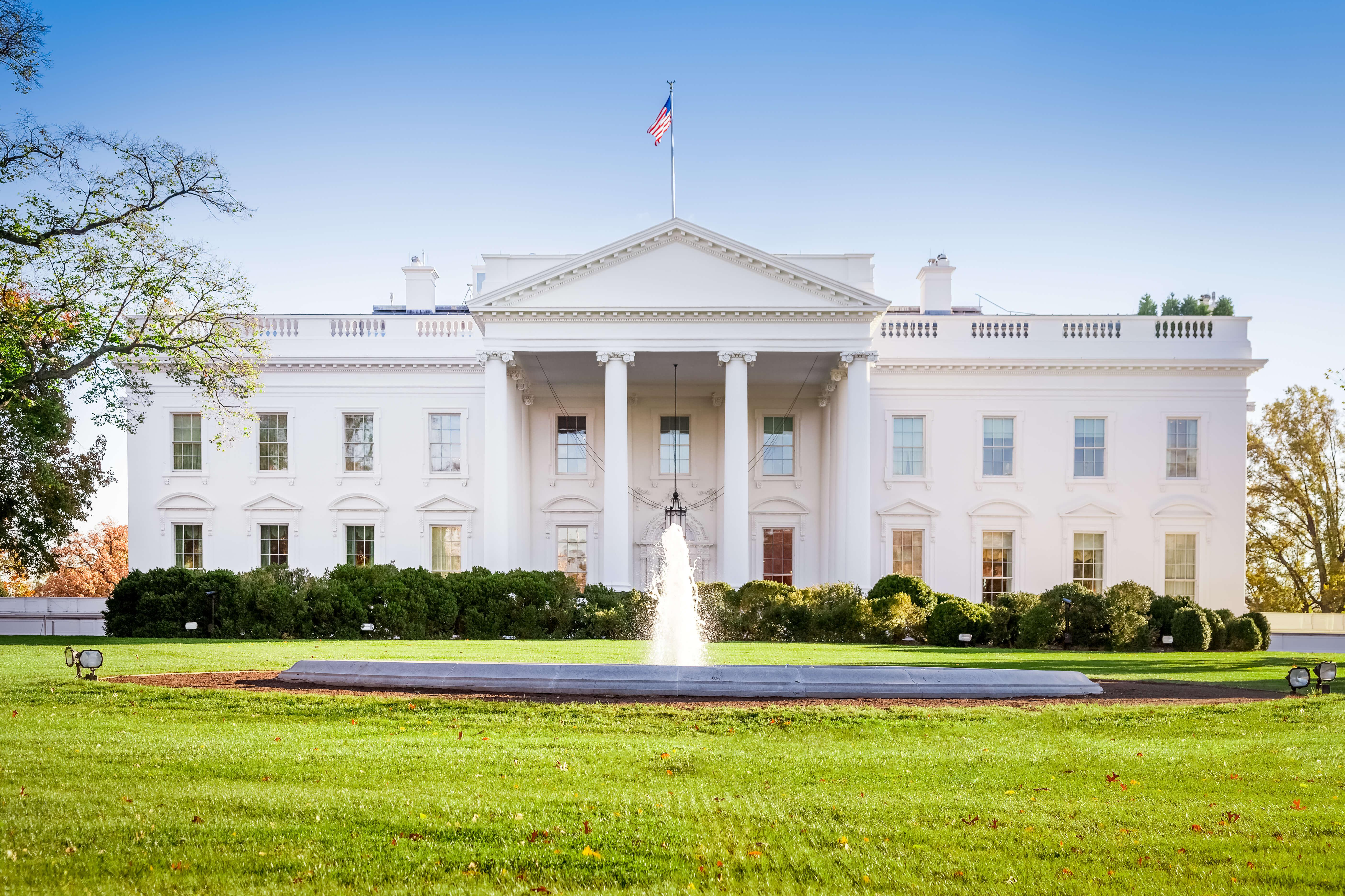 Washington DC, the White House