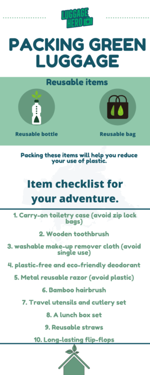 packing green luggage tips from luggagehero