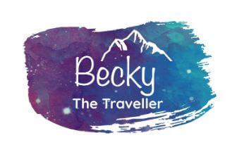 becky the traveler logo