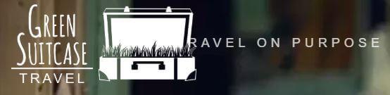 Green suitcase travel blog