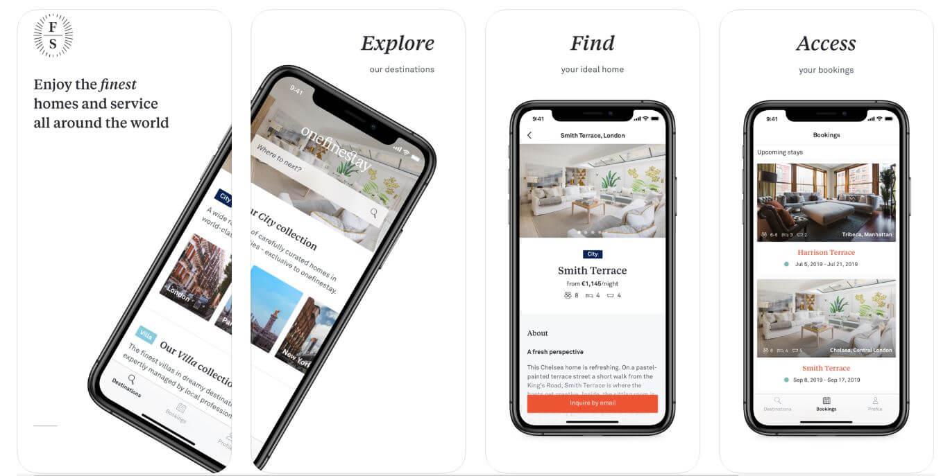 onefinestay travel app