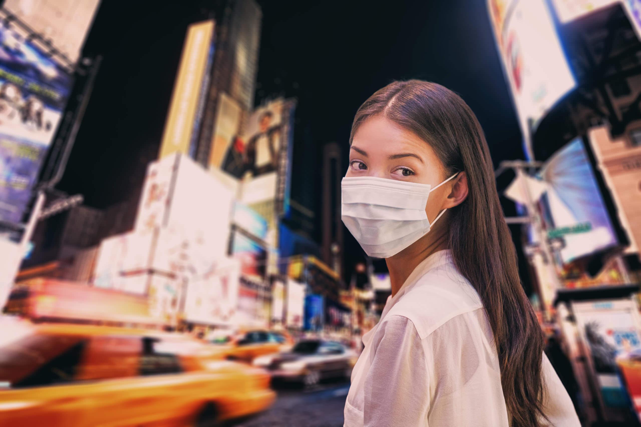 Travel information coronavirus in NYC