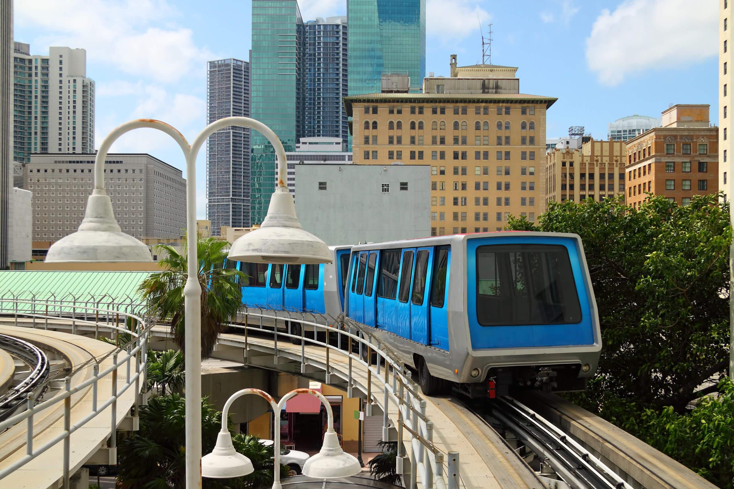 Miami public transport during covid