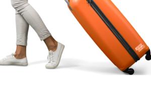 dragging luggage