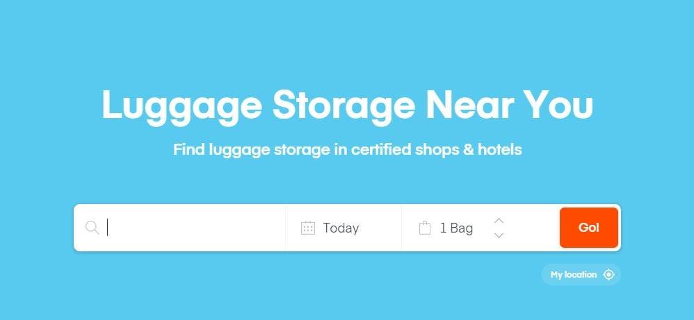 luggage storage near me